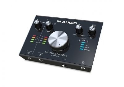 Interface M-Audio M-Track 2x2 Audio y Midi Front