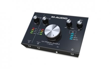 Interface M-Audio M-Track 2x2 Audio y Midi Front