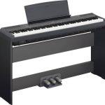 Piano Digital Yamaha P-115 con soporte L-85 y Accesorio 3 Pedales LP-5A