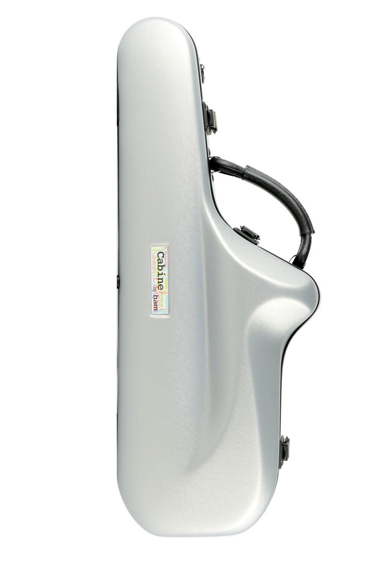 Estoig BAM Saxo Alto Mod Cabine Metalic Silver