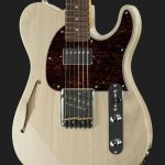 musicalexbarcelona G&L Tribute Asat Classic Blues Boy Semi Hollow Blonde Front