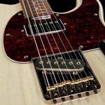 musicalexbarcelona G&L Tribute Asat Classic Blues Boy Semi Hollow Blonde bridge