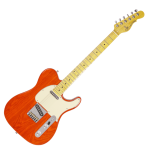 musicalexbarcelona.com G&L Tribute Asat Classic Clear Orange Diagonal